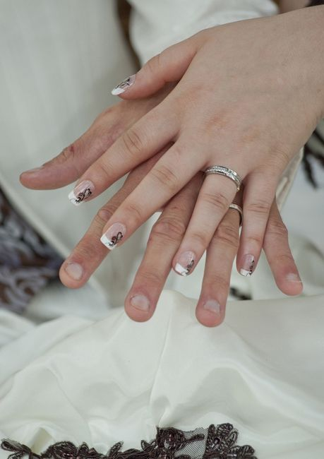 faux ongles pour mariage. Black Bedroom Furniture Sets. Home Design Ideas