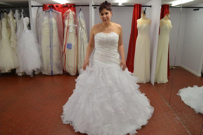 Commander une robe de mariee chez tati
