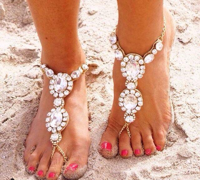 Bijoux de pied mariage/plage, vos avis site etsy , 1
