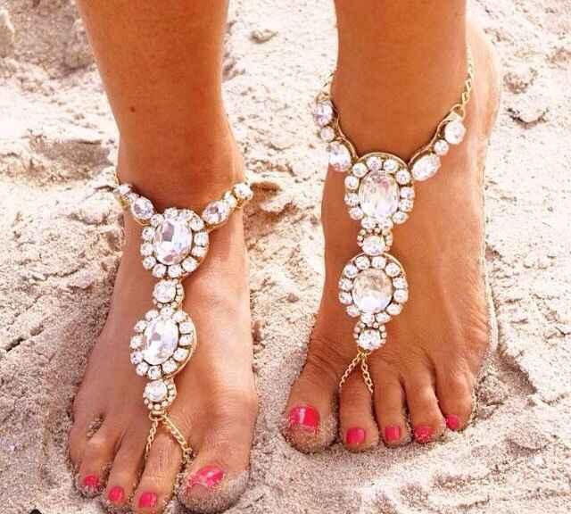 Bijoux de pied mariage/plage, vos avis site etsy - 1