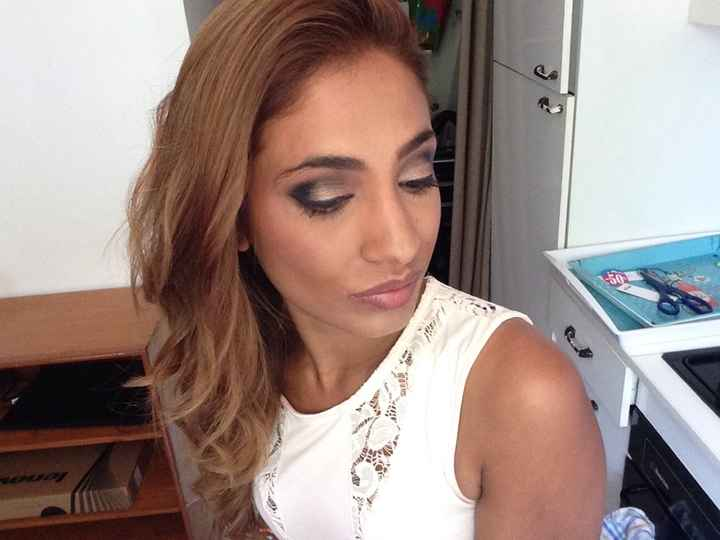 Wedding make up: test! - 2