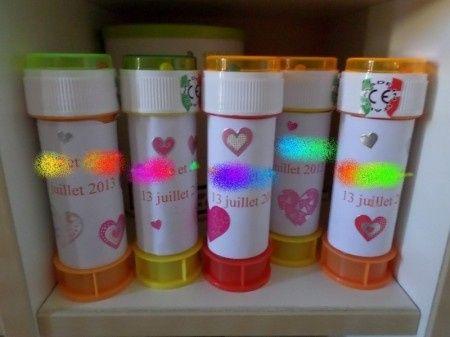 Bulles de savon pour les enfants