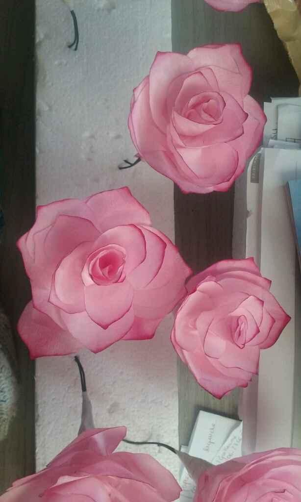 Mes roses en filtre a café - 2