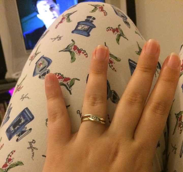 La bague de la demande en mariage - 1