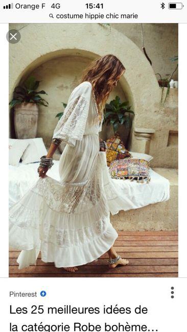 à la recherche de ma robe hippie bohème 1