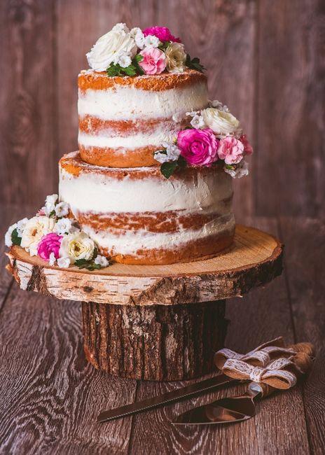 Les meilleures tendances - Le naked cake - Banquets
