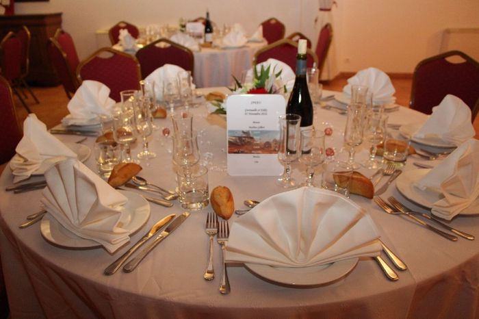 Tables rondes : combien d'invités par tables ?? - 1