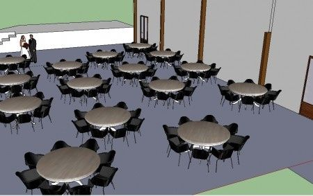 plan de salle 3d banquets forum. Black Bedroom Furniture Sets. Home Design Ideas