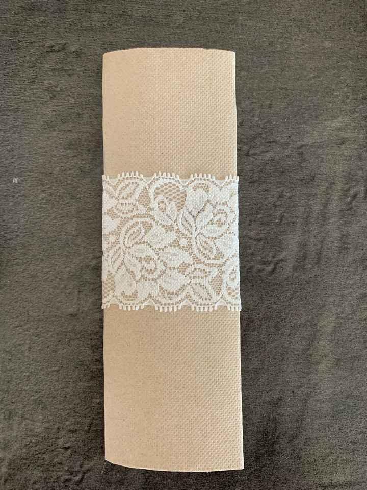 Rond de serviettes - 1