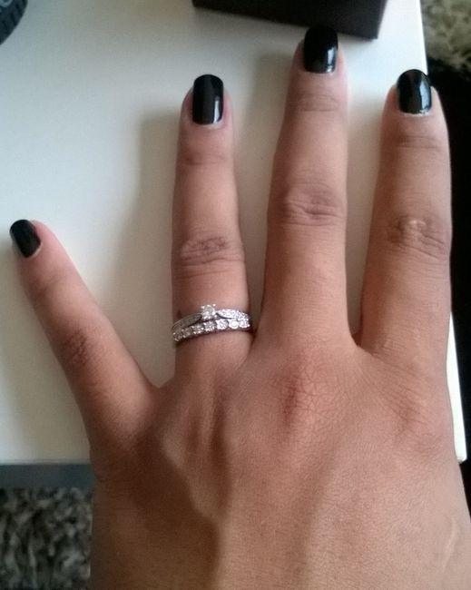 Bague 3 anneaux auchan
