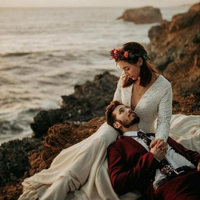 Photo de couple pendant le mariage ou après ? 1