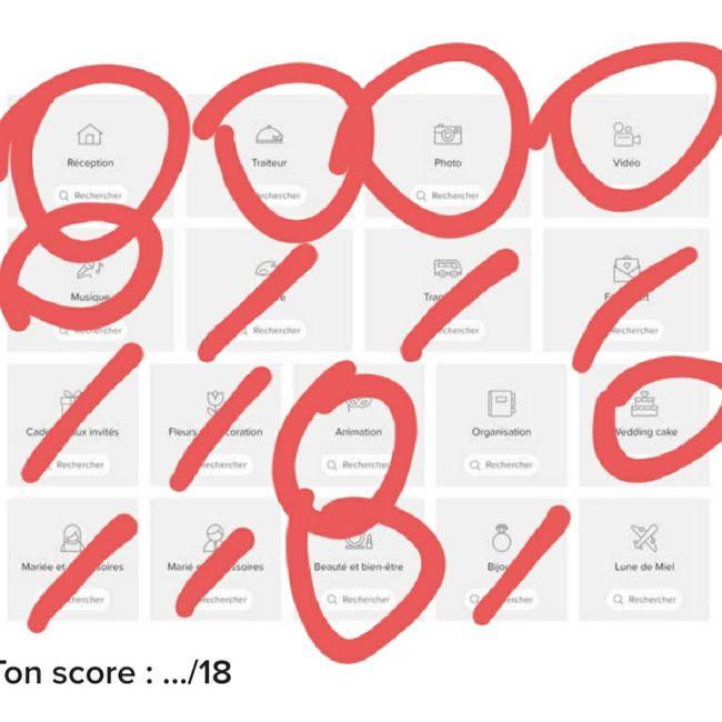 Le bingo des prestataires ! Joue et dis-nous ton score ! ✅ 10