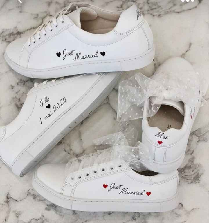 Chaussure jour j - 1