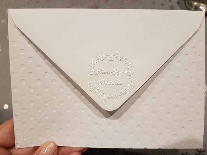 Enveloppe pour faire-part 6