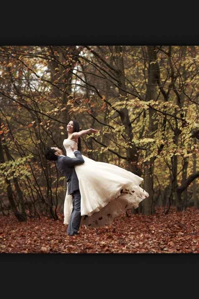 Caprice du jour: mariage en automne