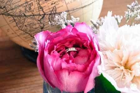 Ma jolie bague de fiançailles