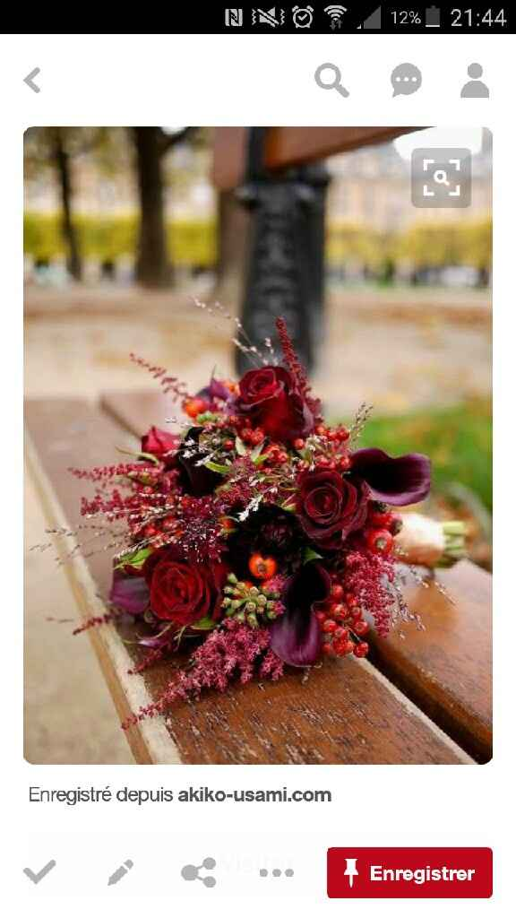Couleurs du mariage : rouge, prune, vert... vos avis ? - 1