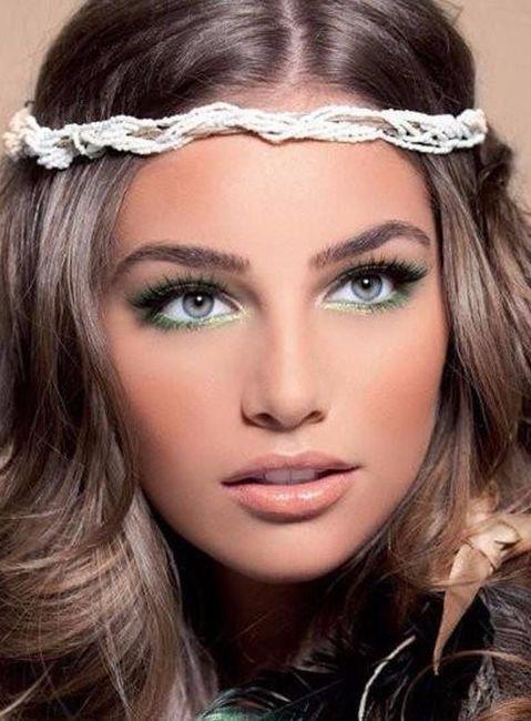 maquillage coloré