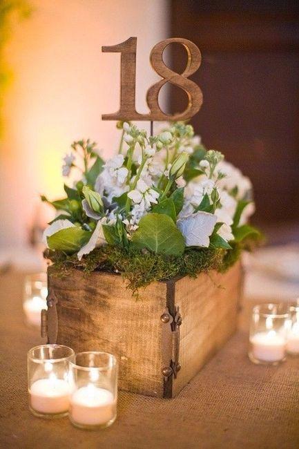 20 centres de table avec des fleurs d coration forum. Black Bedroom Furniture Sets. Home Design Ideas