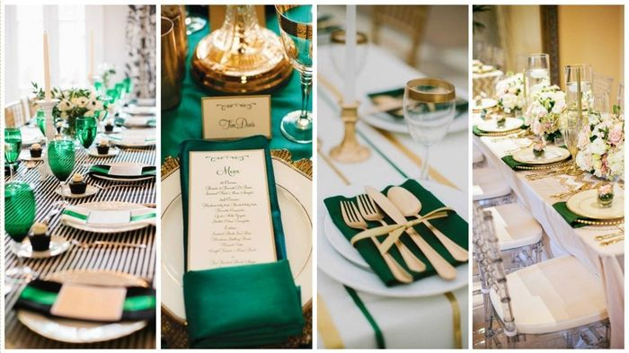 decoration table mariage vert emeraude. Black Bedroom Furniture Sets. Home Design Ideas