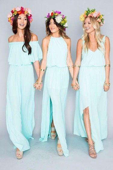 Choisis la couleur de ton mariage la robe des for Robes de demoiselles d honneur bleu marine mariage