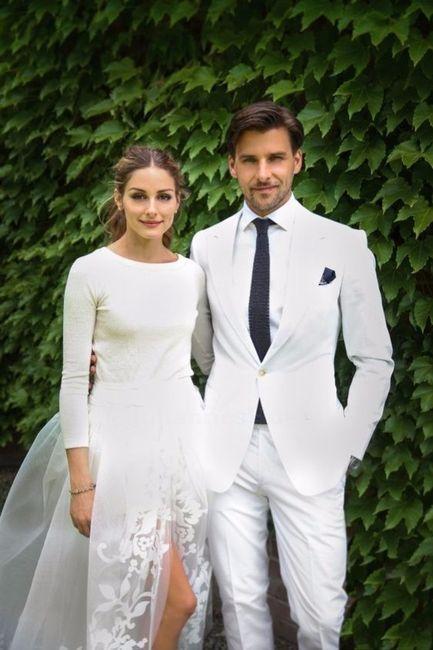7 costume marié blanc
