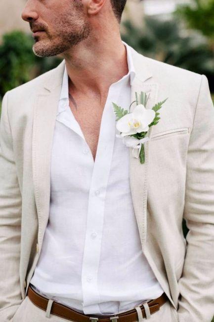 10 costume marié beige