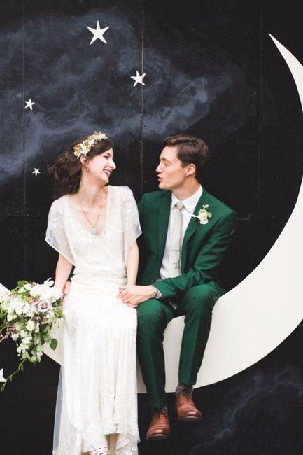 11 costume marié vert