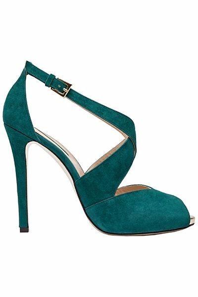 11 chaussures mariage Vert