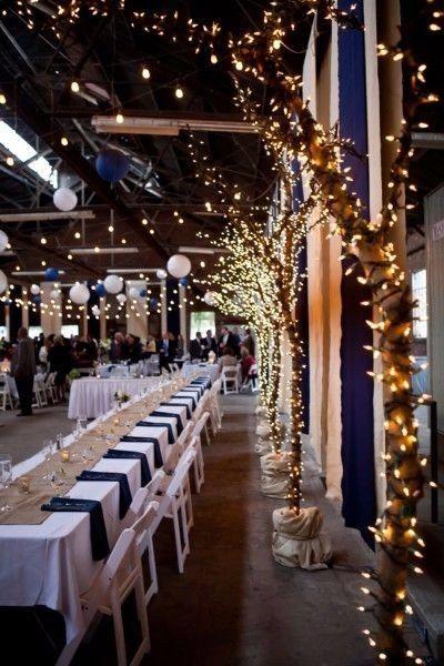 Mariage Bicolore Bleu Marine Et Blanc Decoration Forum