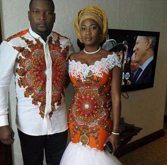 Je ne connais pas trop les traditions africaines (ou pas du tout même)  concernant le mariage, mais j\u0027imagine que les robes de mariée ne doivent  pas être