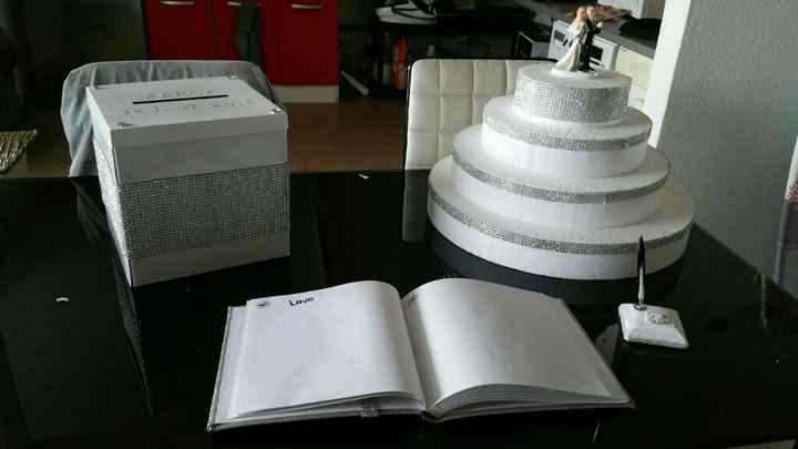Support dragées faux wedding cake - 2