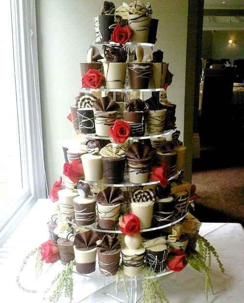 Wedding cake Tout Choco !