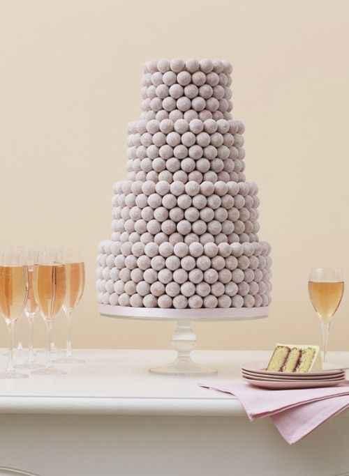 The Wedding Cake Truffes !