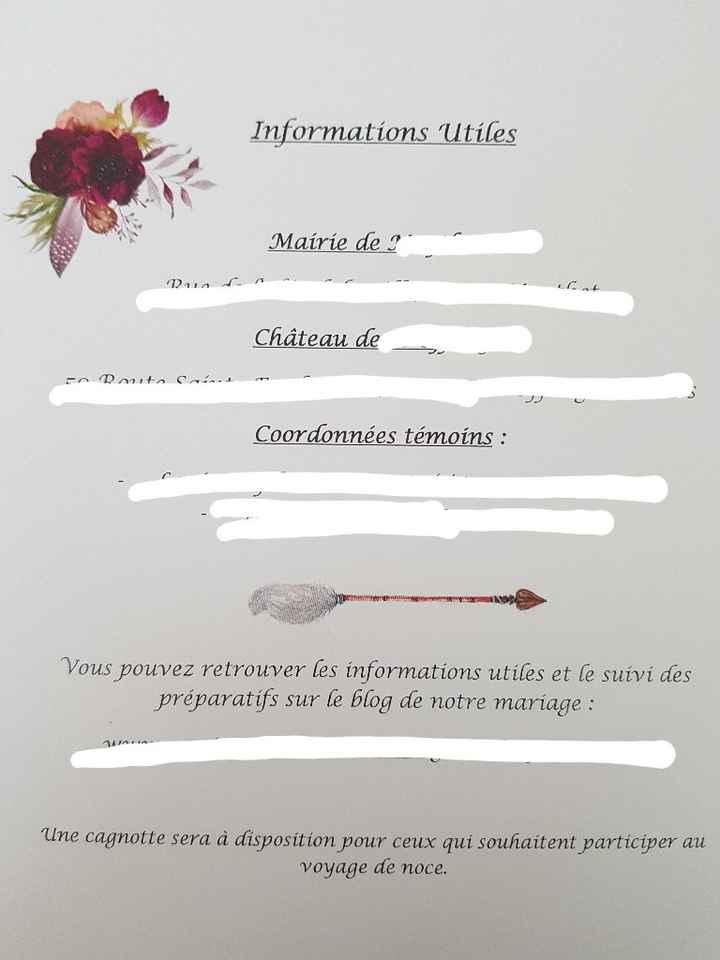 Carton pour Vin d'honneur - 1