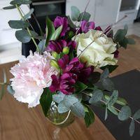 Essai bouquet centre de table - 1