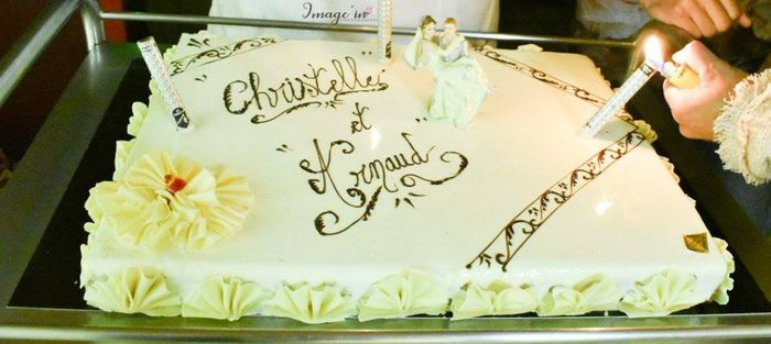 Dessert : Pièce montée de choux VS Wedding cake 4