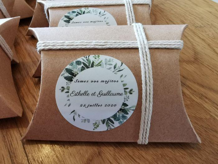 Cadeaux invités 2