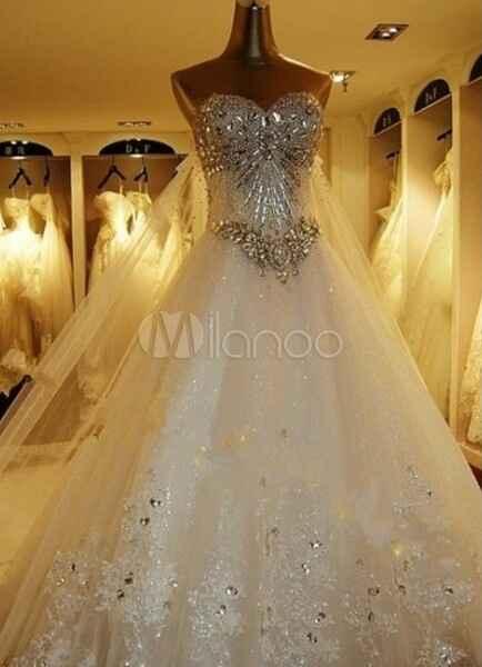 Ma robe sera une ... 👰 - 1