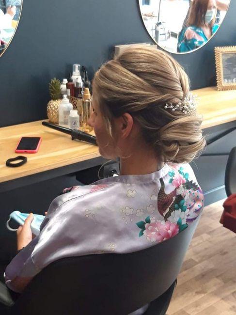 J-13 essai coiffure ; 2