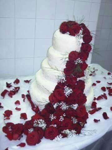 th me du mariage en rouge et blanc 1 photo d coration. Black Bedroom Furniture Sets. Home Design Ideas