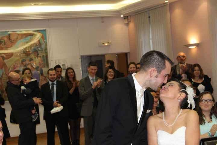 et le bisou des mariés