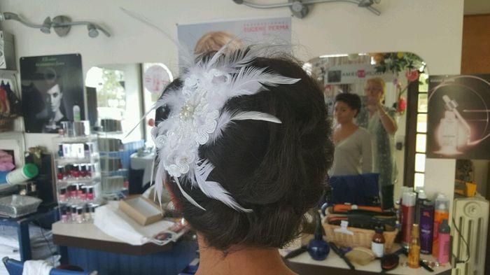 Allez hop 1er essai coiffure! - 1