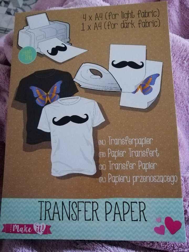 Papier transfert - 1
