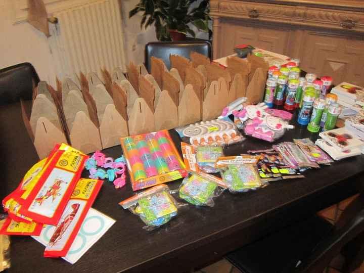 Boîtes de petits cadeaux pour les enfants et les ados
