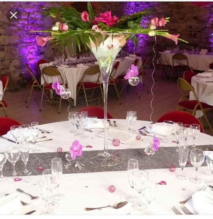Vase verre à Martini - 1