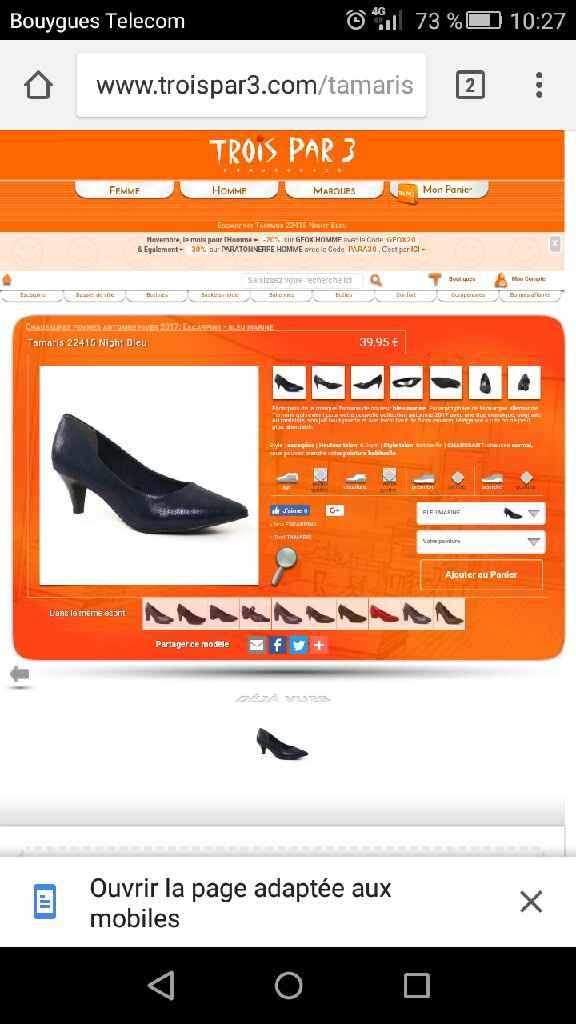 La galère des chaussures - où trouver ? - 1