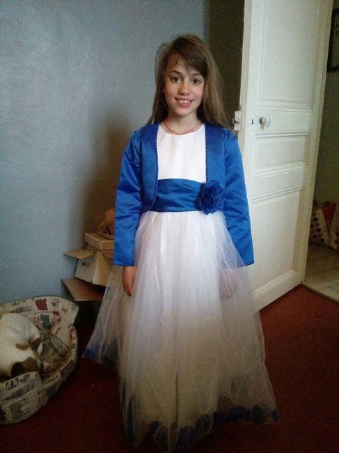 Robe de ma fille reçue !😍😊 - 1