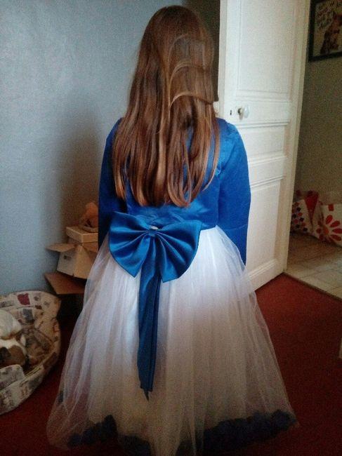 Robe de ma fille reçue !😍😊 - 2
