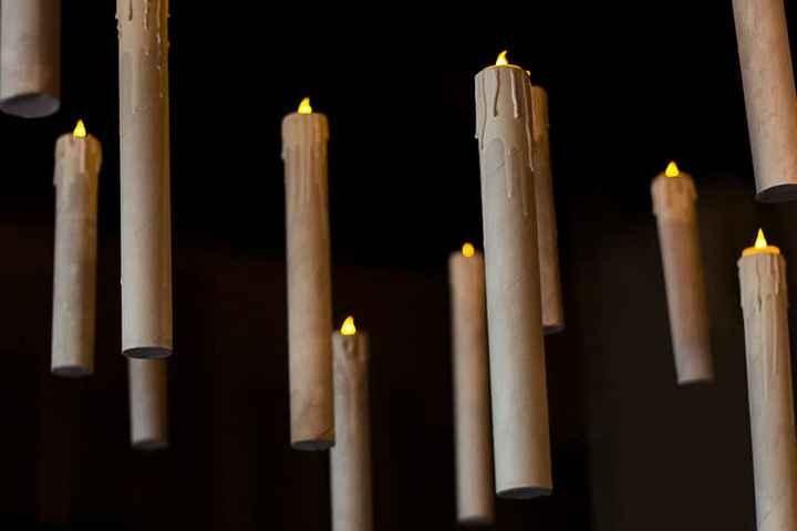 Décoration avec bougies 🕯 - 2